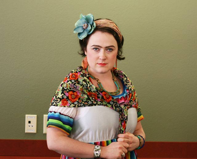 Frida Kahlo costume. An art-inspired #halloween #costume
