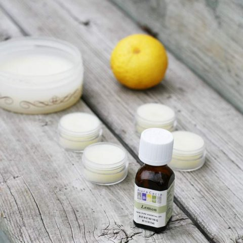 Lemon skin balm makes a great gift. 3 ingredients. Smells awesome. Repin to save.