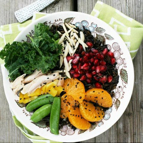 Fruited Wild Rice Bowls