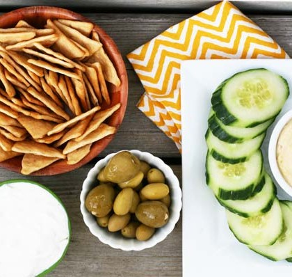 The $10 Mezze Platter, inspired by American Sniper. Click through for details!