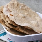 How to make homemade Norwegian flatbread (flatbrod). Great with jelly, cheese, butter, and other toppings!
