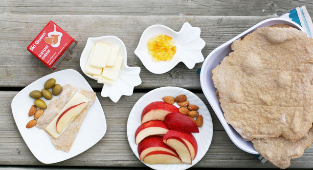 Norwegian flatbread (flatbrod) recipe. Serve with cheese, apples, marmalade, or as a side for soup.