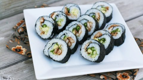 How To Make Cheap Sushi Rolls At Home Just 1 40 Per Person Cheap Recipe Blog