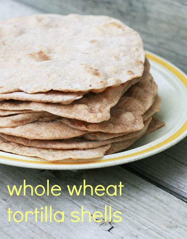 recipe: whole wheat tortillas recipe [32]