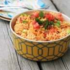 Chipotle-lime chicken bacon pasta salad. A FLAVORFUL alternative to traditional summer pasta salad.