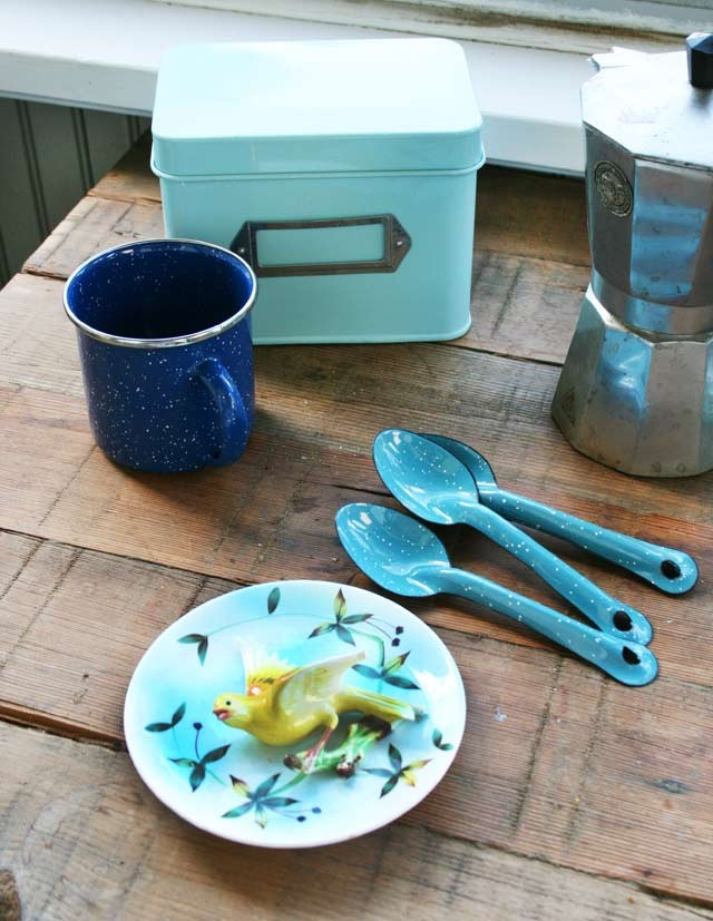 I buy a variety of photo props, kitchen items, and other kitchen goods at thrift shops.