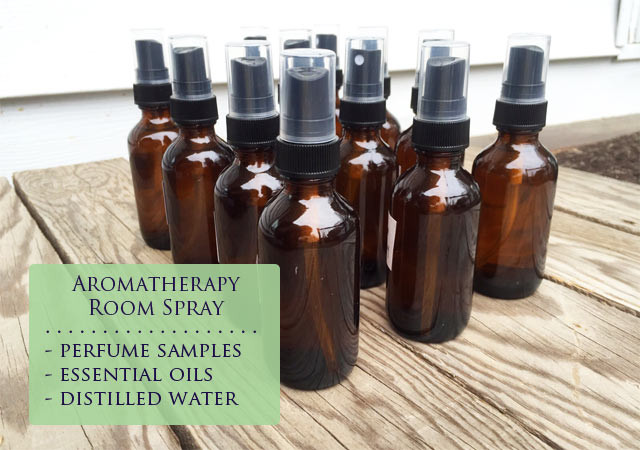 Make your own DIY aromatherapy room spray out of a few ingredients!