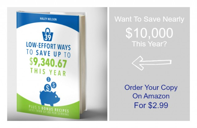"Preorder ""39 Low-Effort Ways To Save Up To $9,340.67 This Year"" by Haley Nelson"