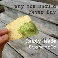 Why you should never buy ready-made guacamole