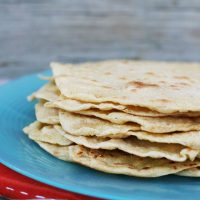 Homemade Einkorn Flour Tortillas