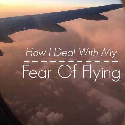 How I deal with my fear of flying. Tips for skittish, nervous, and petrified fliers.