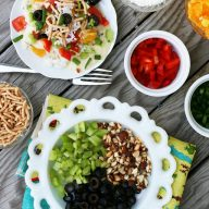 Hawaiian Haystacks. Customizable comfort food at its best! Click through for recipe.