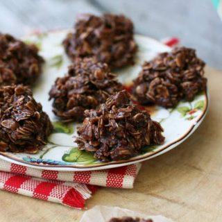 Retro Recipes: No-bake chocolate oatsies