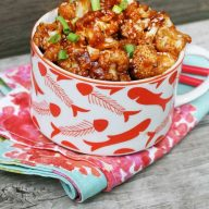 Kung Pao Cauliflower: The meat-free version of the popular Chinese dish. Click through for recipe!