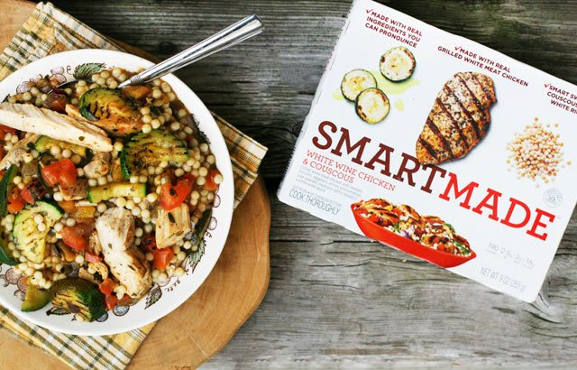SmartMade meals can serve as the base for a nice dinner. Click through for more ideas!