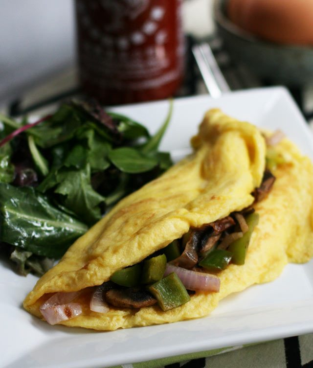 Ever wonder how to make a super fluffy omelette? One simple trick is all it takes. Click through to find out how to make the fluffiest omelette ever!