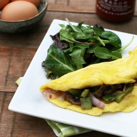 A Perfect, Fluffy, Three-Egg Omelette