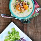 Creamy Hawaiian coconut chicken soup recipe.