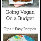 Going vegan on a budget. Tips and easy recipes to get you started.