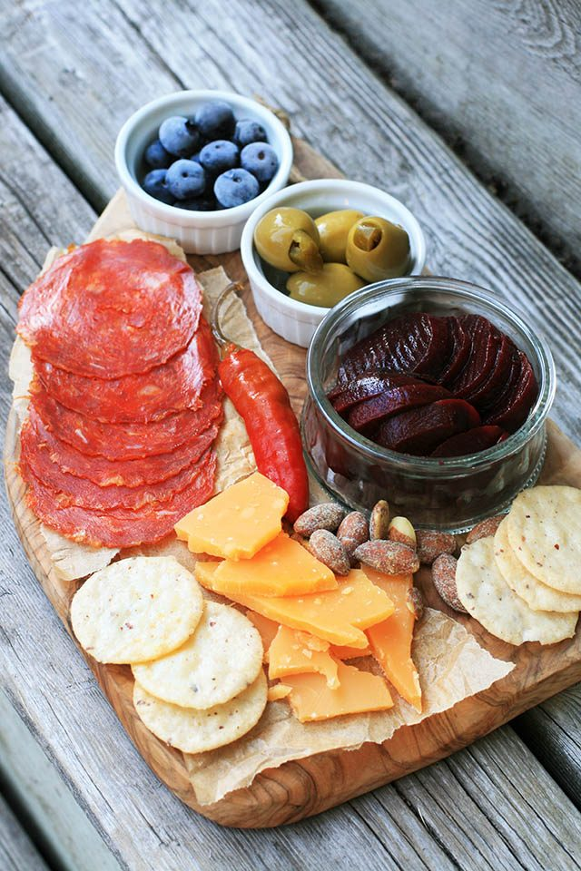 A cheap charcuterie board: You don't have to spend a lot of money