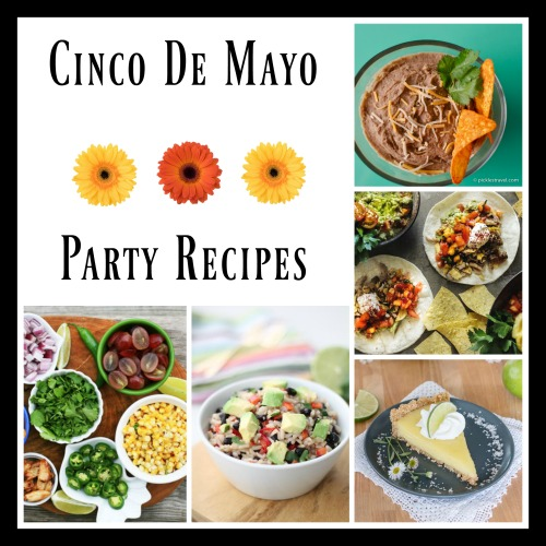 Get 5 creative Cinco de Mayo recipes, and throw a Mexican-themed party!