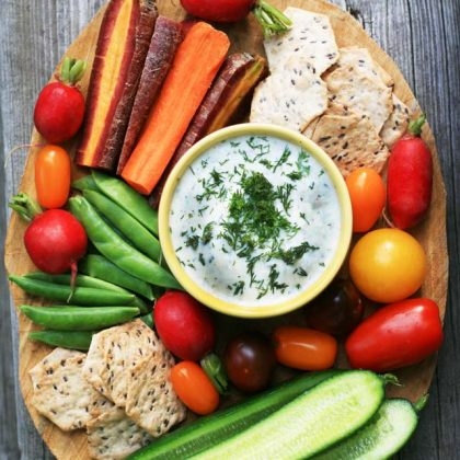 How to create a great veggie platter on a budget.