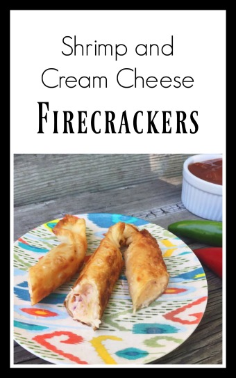 Learn how to make shrimp and cream cheese firecrackers. Click through for recipe!