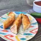Shrimp and cream cheese firecrackers: A tasty and spicy spin on cream cheese wontons.