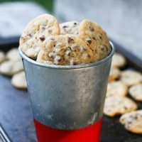 Mini chocolate chip cookies: When they're this small, you can have more!