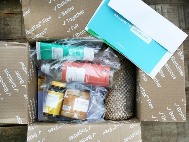What I bought on Brandless.com