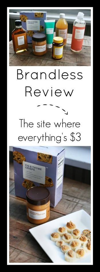 Brandless review: The website that sells everything for $3.00. Click to read my review.