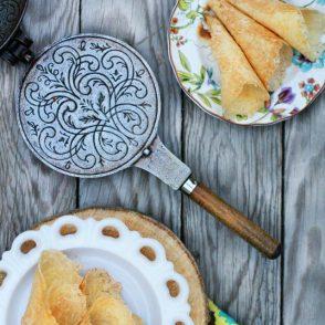 Norwegian krumkake recipe: My mom's recipe that's been in the family for decades!