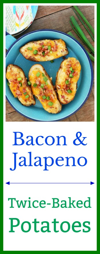 Bacon-jalapeno twice-baked potatoes: A cheap recipe that feeds a crowd! Click through for recipe.