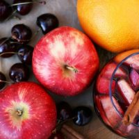 Cinnamon red wine punch: A spicy twist on sangria.