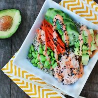 Spicy Tuna Sushi Bowls
