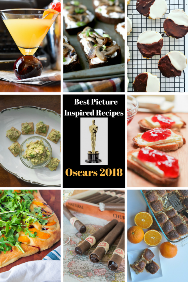 2018 Academy Awards Best Picture-inspired recipes: Get inspiration for your Oscars party!