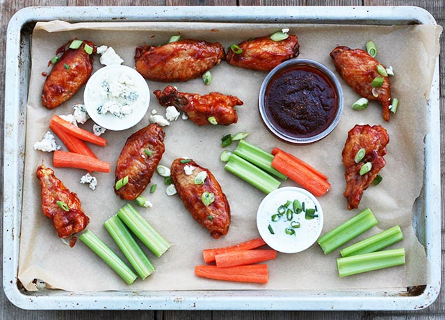 Learn how to make crispy chicken wings at home - no deep frying necessary!