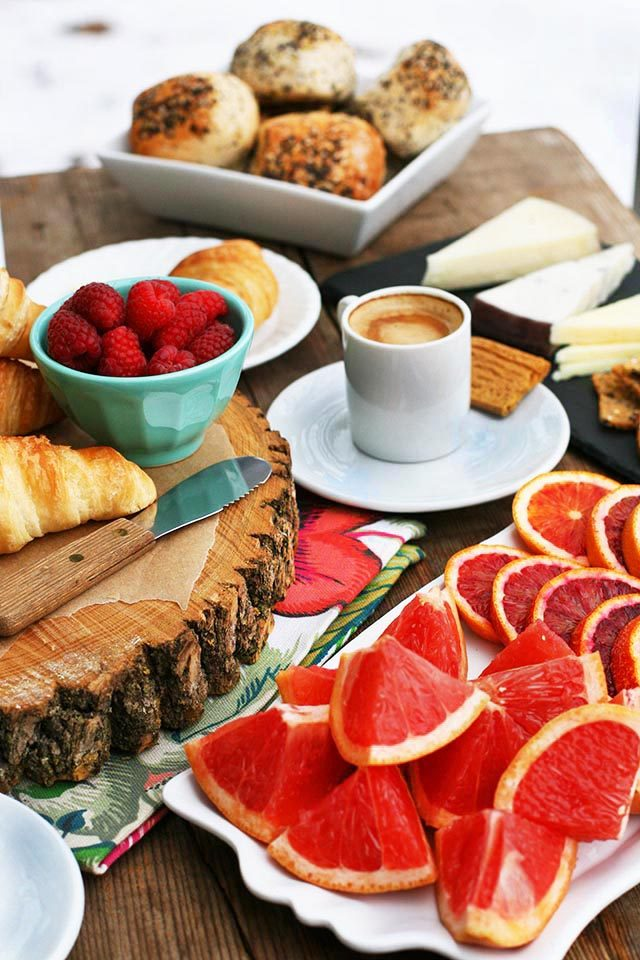 Make your own European-style breakfast bar at home. No cooking required - just assembling!