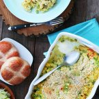 Tuna noodle hotdish: A classic casserole recipe. Click through for recipe!