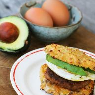 Cheesy cauliflower English muffins: A low carb option for an epic breakfast sandwich!