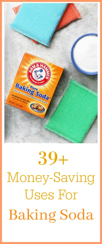 39+ money-saving uses for baking soda. This is a powerhouse product!