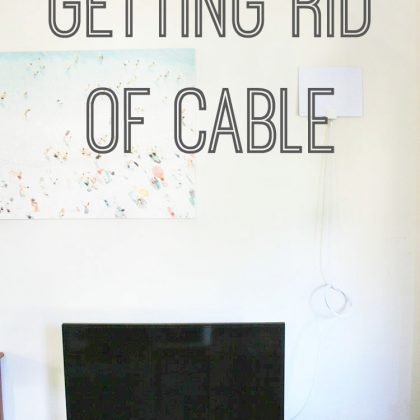 Getting rid of cable: A simple money-saving guide. Click through to find out more about saving money.