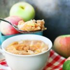 Apple cinnamon mug cake: Don't want to make a whole cake? Then try this fall-inspired mug cake, ready in 5 minutes.