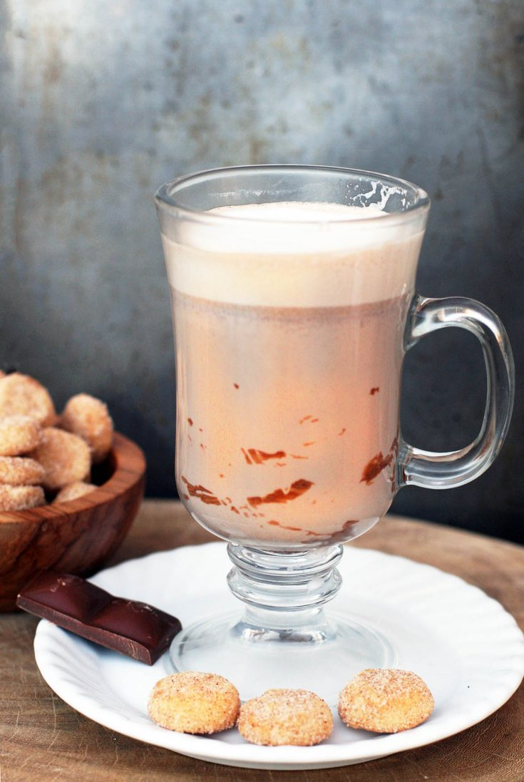Learn how to make Argentine hot chocolate: El submarino. Chocolate is added to warm milk for an extra special treat.