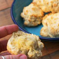 Buttermilk Baking Powder Drop Biscuits
