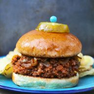 Caramelized onion sloppy joes: Adding caramelized onions to these classic sandwiches makes them 10x better!