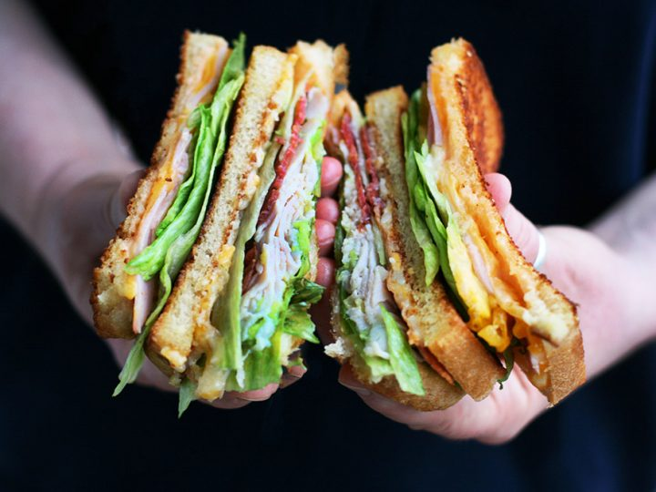 Grilled Club Sandwiches Cheap Recipe Blog