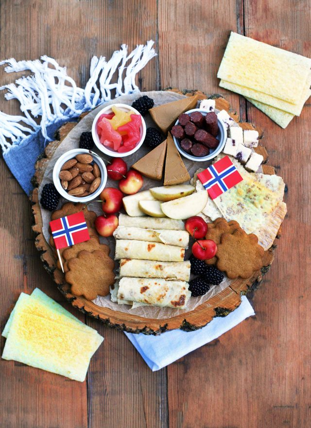 Scandinavian snack board: Delicious Nordic snacks make up this party-ready snack board.
