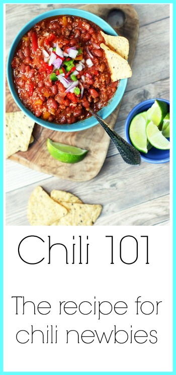 Chili 101: First time making chili? You're in the right place! Learn how to make classic chili.