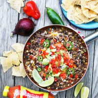 Mexican Ground Beef Skillet